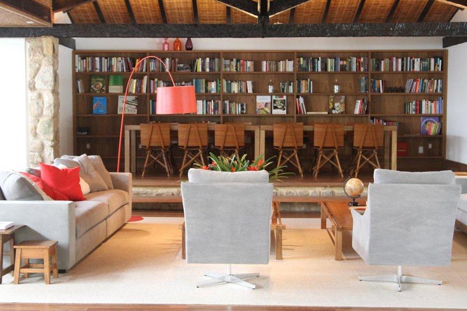 D co ambiance bibliotheque exemples d 39 am nagements - Bibliotheque pour salon ...