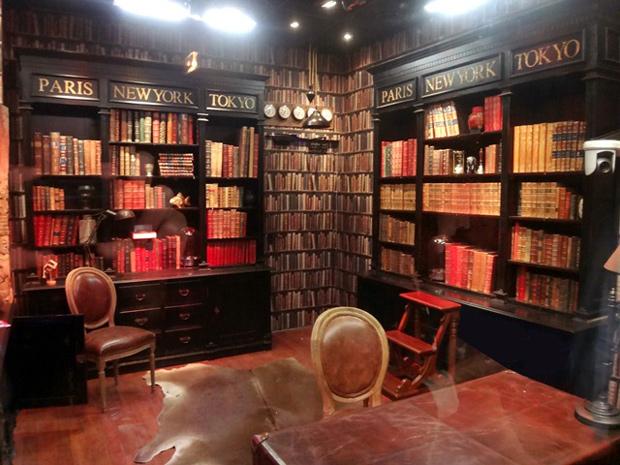 D co ambiance bibliotheque exemples dam nagements for Bibliotheque decoration de maison