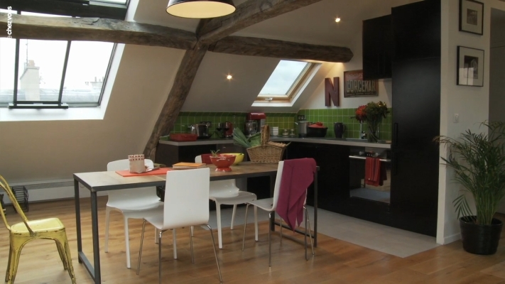 Top deco-appartement-comble-6.jpg (711×400) | appart sous combles  BO53