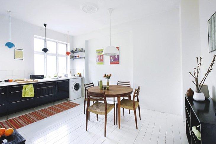 D co appartement danois exemples d 39 am nagements for Exemple deco appartement