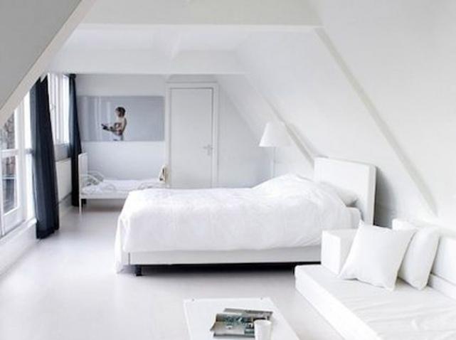 D co appartement tout blanc exemples d 39 am nagements for Deco appartement en l
