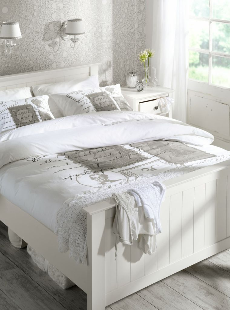 D co chambre adulte blanc exemples d 39 am nagements for Voir deco chambre adulte