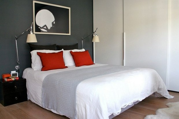 D co chambre adulte simple for Deco chambre simple