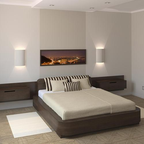D co chambre adulte simple for Chambre adulte deco photo