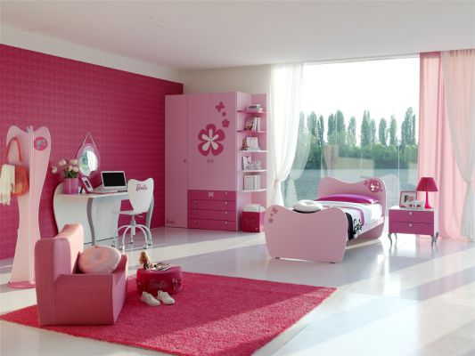 d coration chambre barbie. Black Bedroom Furniture Sets. Home Design Ideas