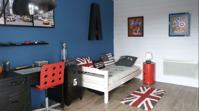 Beautiful chambre ado style industriel ideas ridgewayng for Chambre ado style industriel