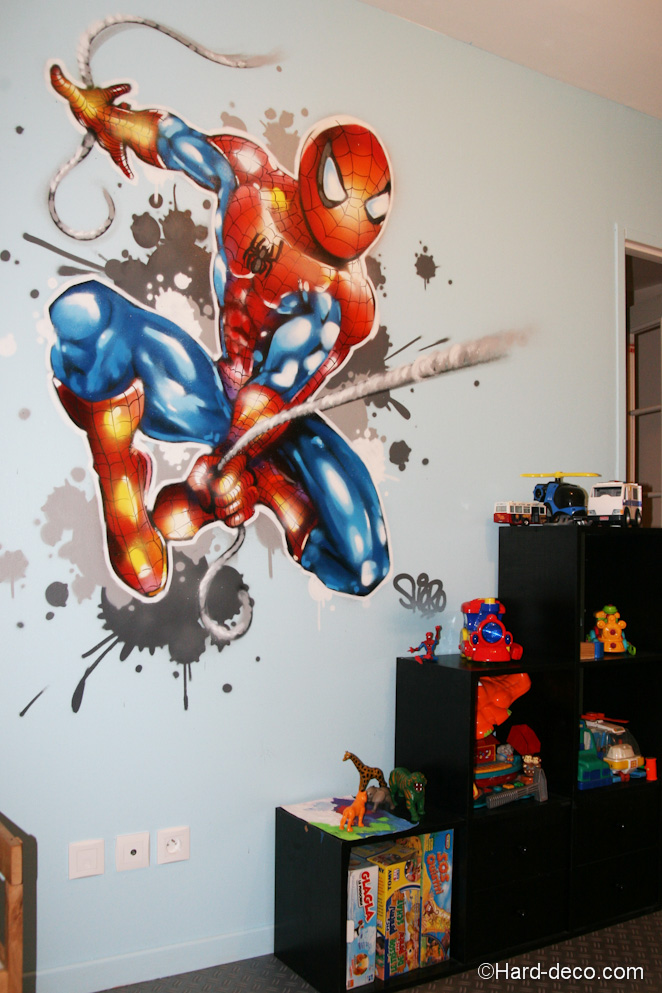 Déco chambre comics - Exemples d\'aménagements
