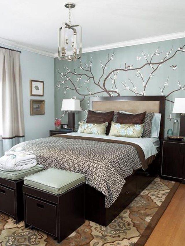 Déco chambre contemporaine - Exemples d\'aménagements