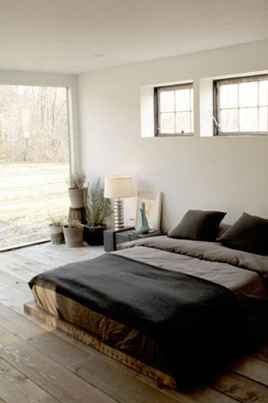 d co chambre couleur lin exemples d 39 am nagements. Black Bedroom Furniture Sets. Home Design Ideas