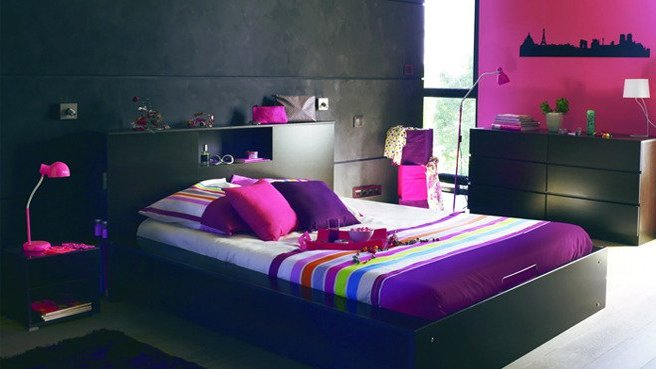 D co chambre d 39 ado fille exemples d 39 am nagements for Idee de chambre fille ado