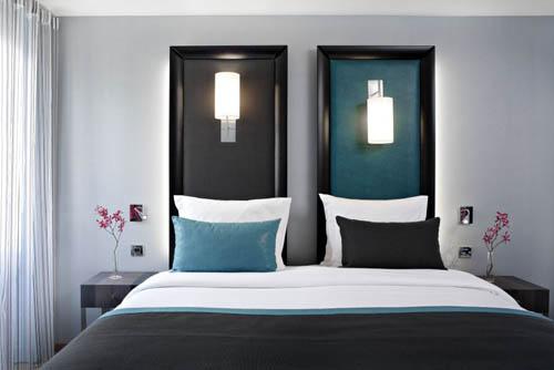 d co chambre d 39 invites exemples d 39 am nagements. Black Bedroom Furniture Sets. Home Design Ideas