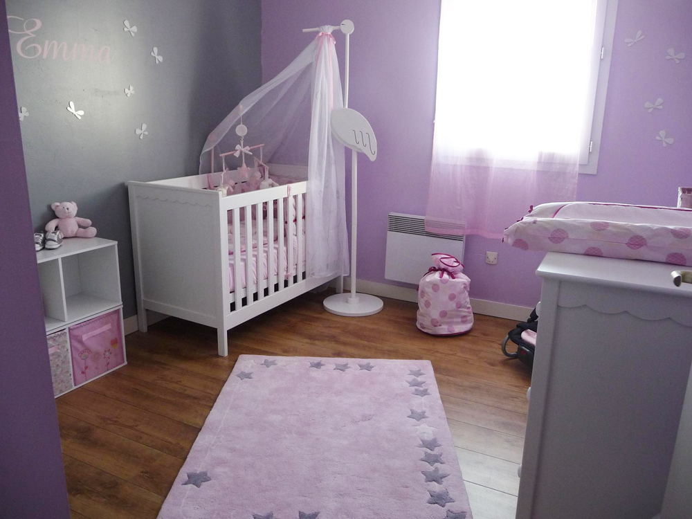 D co chambre de bebe fille exemples d 39 am nagements - Chambre de bebe fille decoration ...