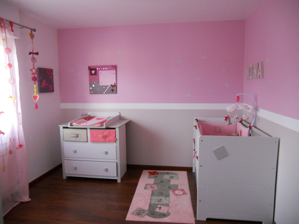 Deco Chambre De Bebe Fille Exemples D Amenagements