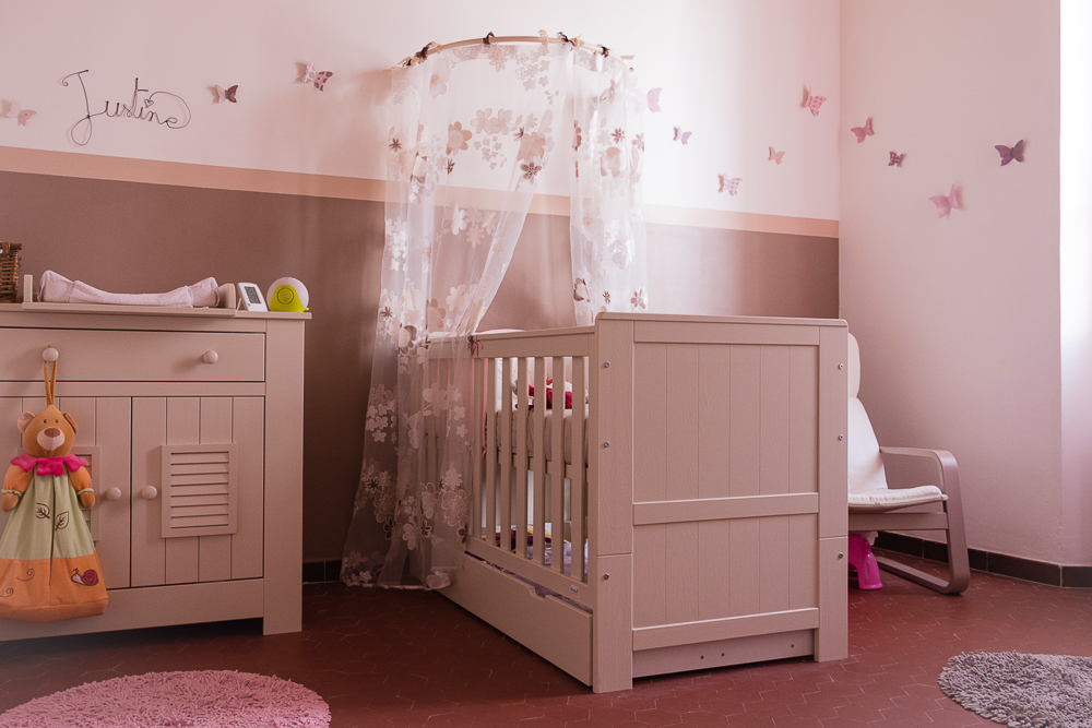 D co chambre de bebe fille exemples d 39 am nagements Exemple de decoration de chambre