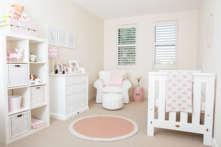 D co chambre de bebe fille exemples d 39 am nagements for Decoration chambre de bebe fille
