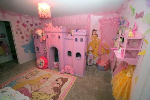 décoration chambre princesse disney