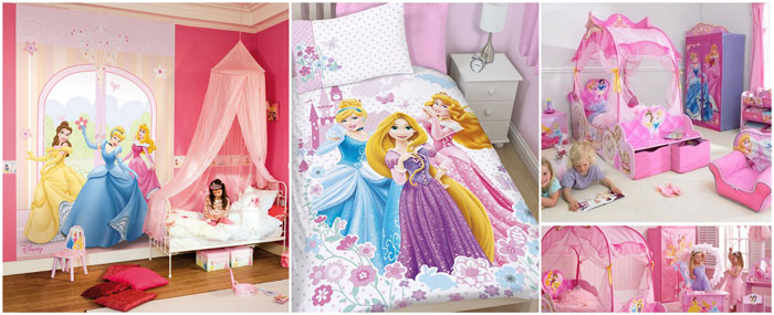 D co chambre disney princesse exemples d 39 am nagements for Deco chambre petite fille princesse
