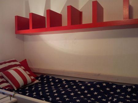d coration chambre drapeau americain. Black Bedroom Furniture Sets. Home Design Ideas