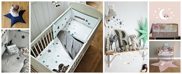 d co chambre etoiles exemples d 39 am nagements. Black Bedroom Furniture Sets. Home Design Ideas