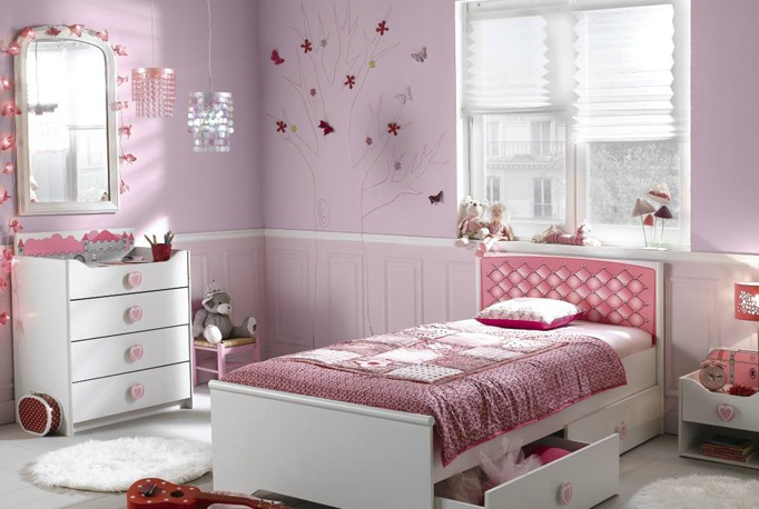 D co chambre fille alinea exemples d 39 am nagements - Deco design chambre fille ...