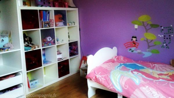 Déco chambre fillette 5 ans - Exemples d\'aménagements