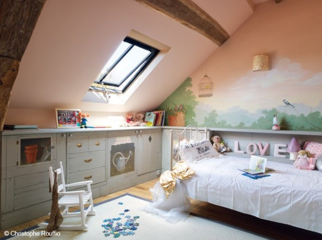 Best Idee Amenagement Chambre Comble Gallery - Awesome Interior Home ...