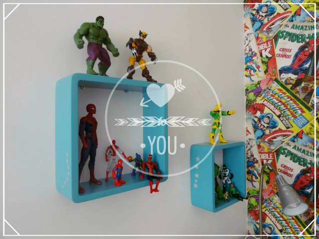 D co chambre heros exemples d 39 am nagements - Deco chambre super heros ...