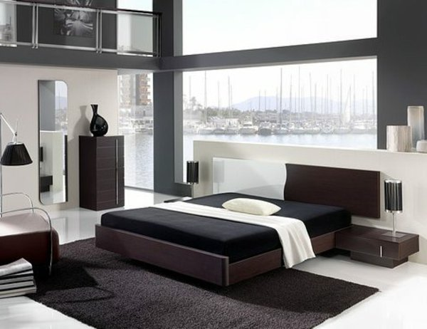 d co chambre homme exemples d 39 am nagements. Black Bedroom Furniture Sets. Home Design Ideas