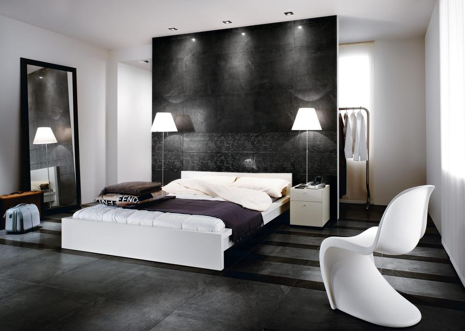 d co chambre homme exemples d 39 am nagements. Black Bedroom Furniture Sets. Home Design Ideas