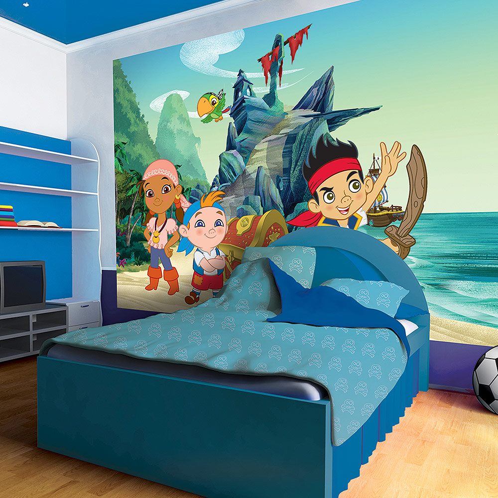 d co chambre jake et les pirates exemples d 39 am nagements. Black Bedroom Furniture Sets. Home Design Ideas