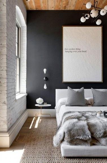 d co chambre jonc de mer exemples d 39 am nagements. Black Bedroom Furniture Sets. Home Design Ideas