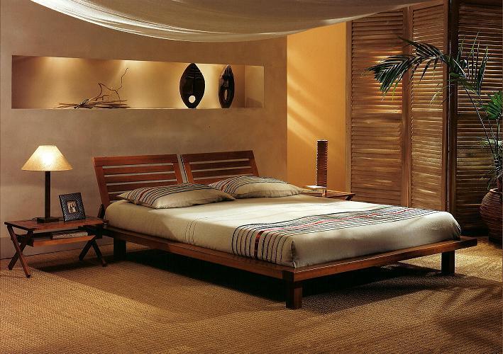 décoration chambre jonc de mer