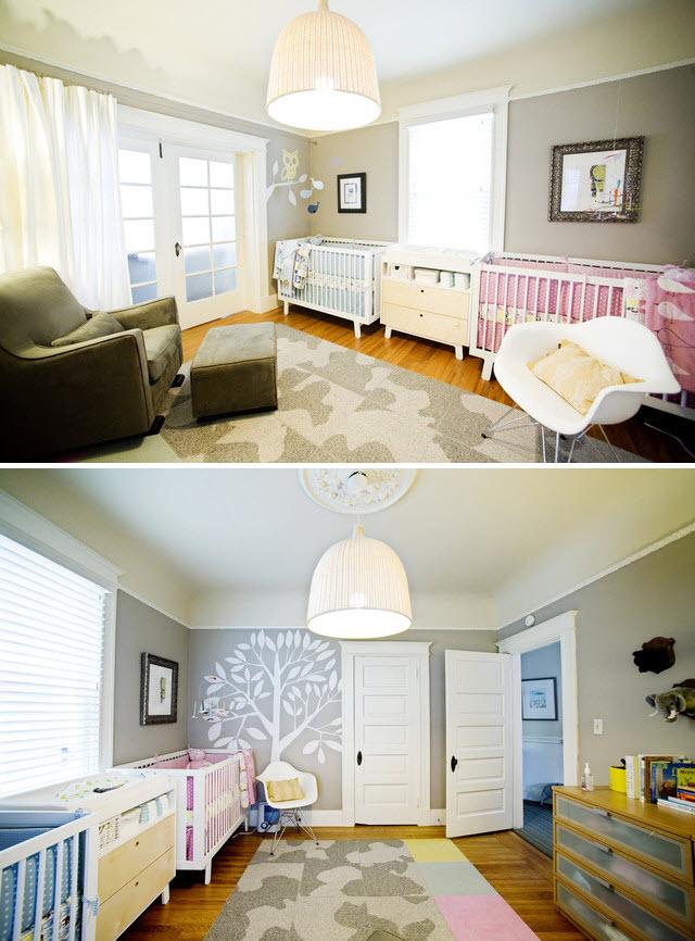 Déco chambre jumeaux garcon - Exemples d\'aménagements