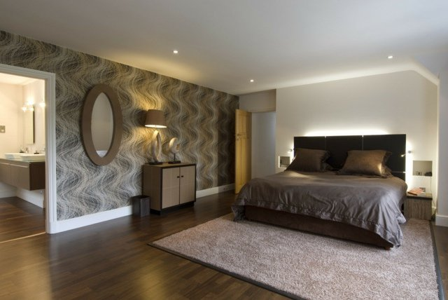 D Co Chambre Marron Et Blanc Exemples D 39 Am Nagements
