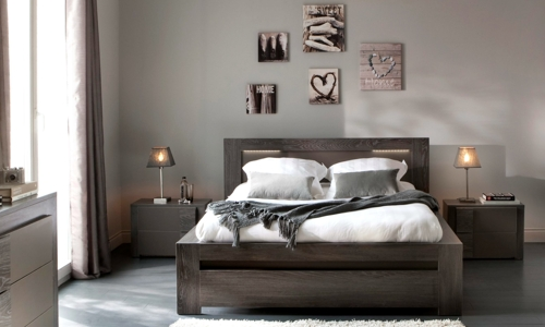 D co chambre meuble ancien exemples d 39 am nagements - Idee deco maison stille moderne ancien ...