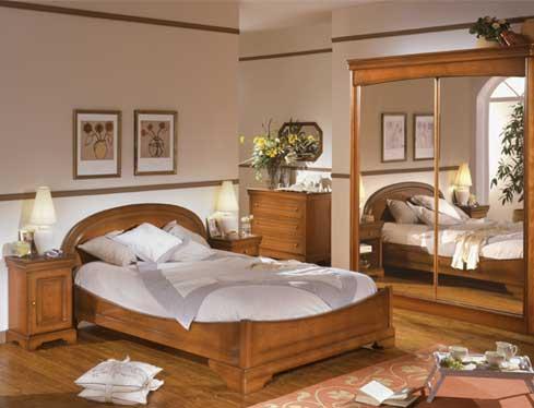 D co chambre meuble ancien - Peinture pour meuble en pin ...