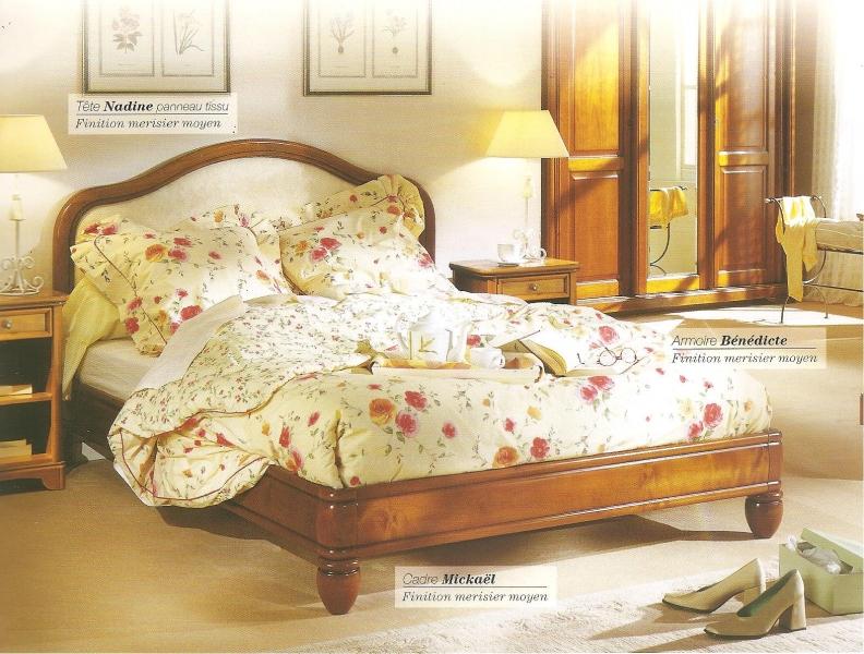 D co chambre meuble merisier - Creation deco maison ...