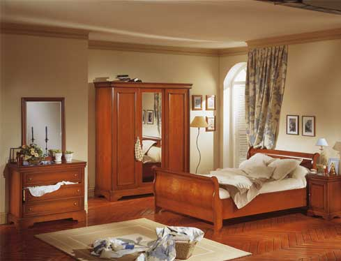D co chambre meuble merisier exemples d 39 am nagements for Decoration d une chambre a coucher