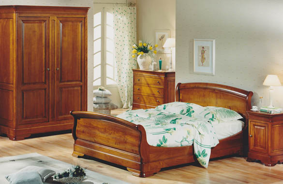 d co chambre meuble merisier exemples d 39 am nagements. Black Bedroom Furniture Sets. Home Design Ideas