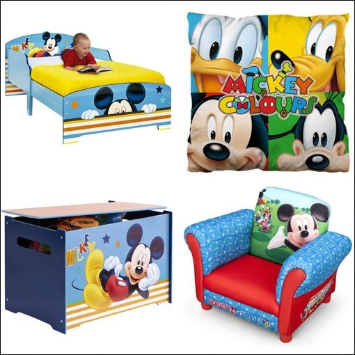 D co chambre mickey exemples d 39 am nagements for Decoration maison mickey