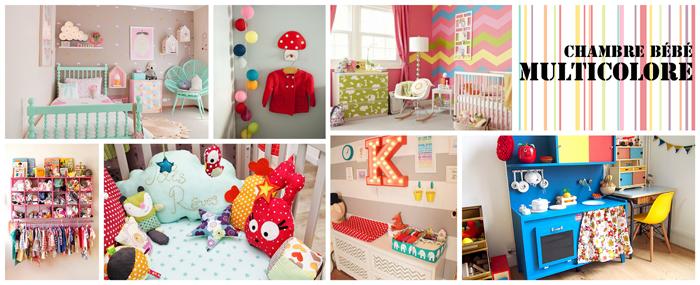 Chambre Multicolore Fille ~ Toutes les Idées Sur la Décoration ...