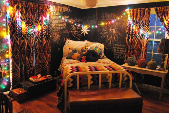 ... Exemple Déco Chambre Multicolore ...