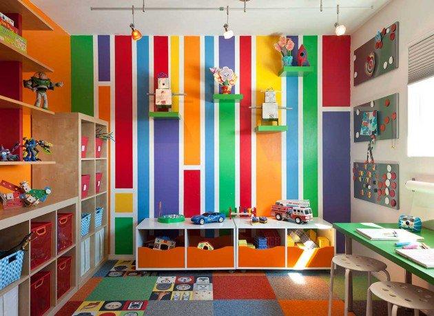 Déco chambre multicolore - Exemples d\'aménagements