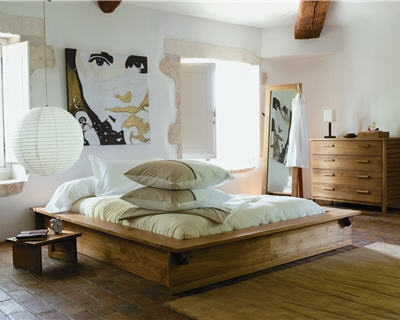 D co chambre nature zen exemples d 39 am nagements for Idee deco chambre contemporaine