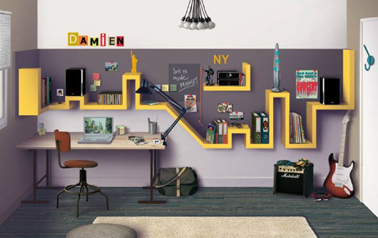 Chambre Deco New York.Deco Chambre New York Ikea Exemples D Amenagements