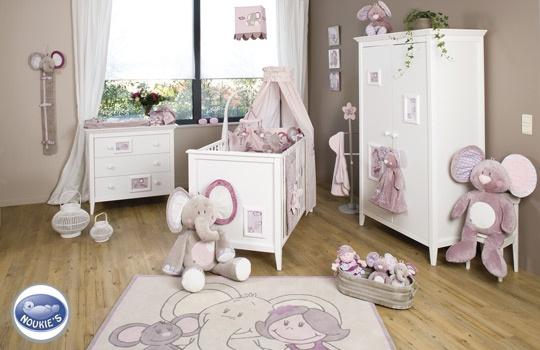 Noukie s mobilier chambre la boutique sur doudou Shop. Collection complète