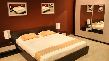 dco chambre orange marron exemples damnagements - Chambre Orange Et Marron