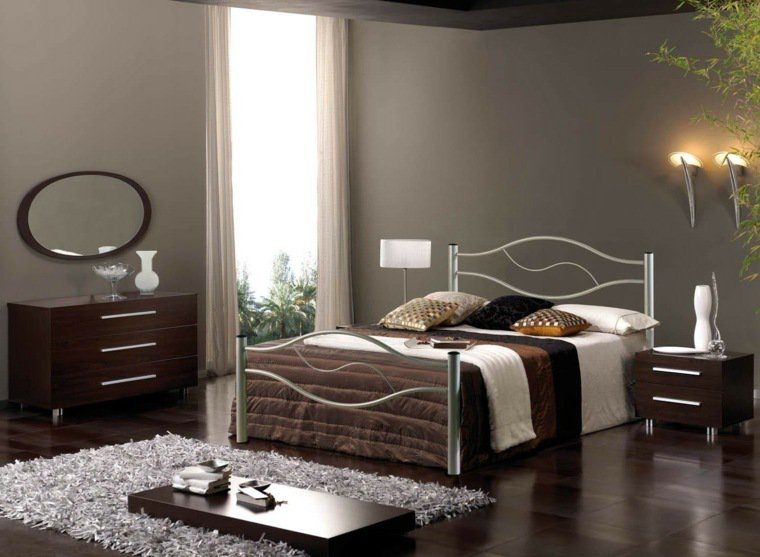 d co chambre parentale moderne exemples d 39 am nagements. Black Bedroom Furniture Sets. Home Design Ideas