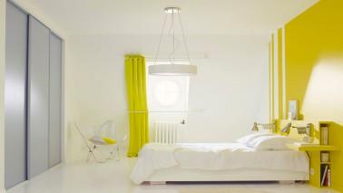 d co chambre peinture couleur exemples d 39 am nagements. Black Bedroom Furniture Sets. Home Design Ideas