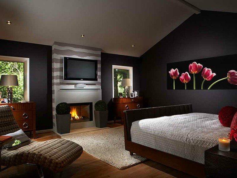 D co chambre peinture couleur exemples d 39 am nagements - Peinture et decoration maison ...